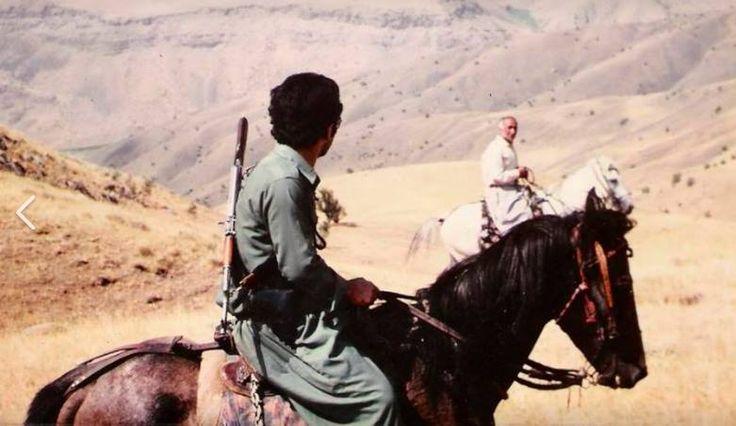 kurdish people kurdistan                Yekta Uzunoglu na frontové linii  s Islámskou republikou Irán 1980