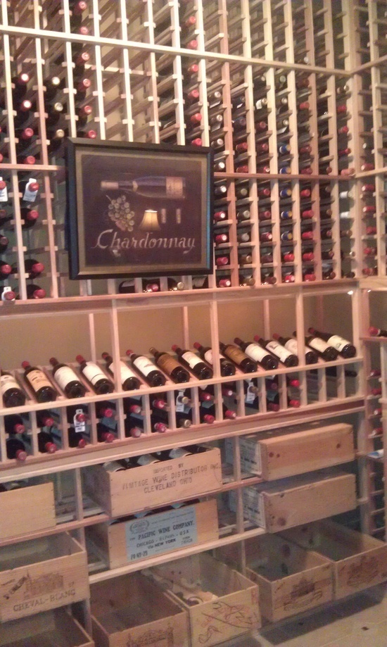 Dream wine cellar room wine lovers pinterest design for Cost to build a wine cellar
