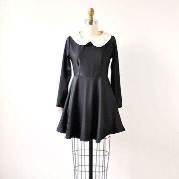 '60s Wednesday Addams Dress, $125, now featured on Fab.