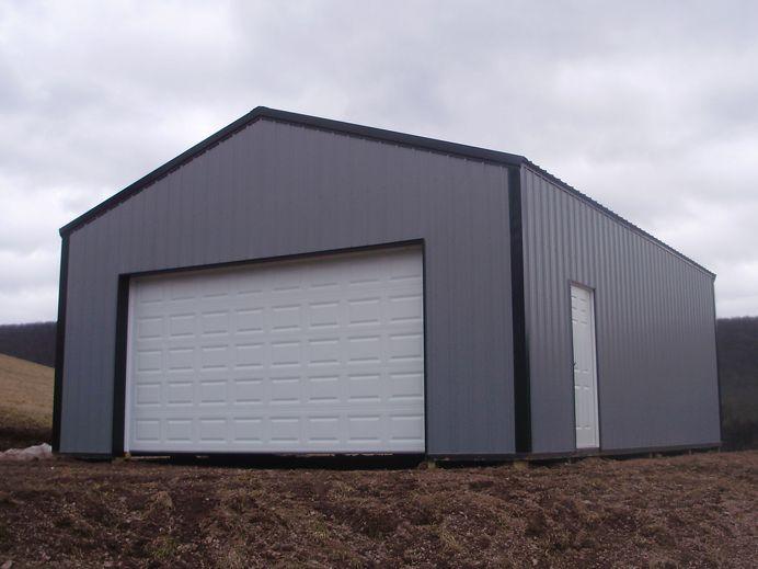 24 w x 32 l x 10 4 h id 329 total cost 8 188 for Pole barn dimensions