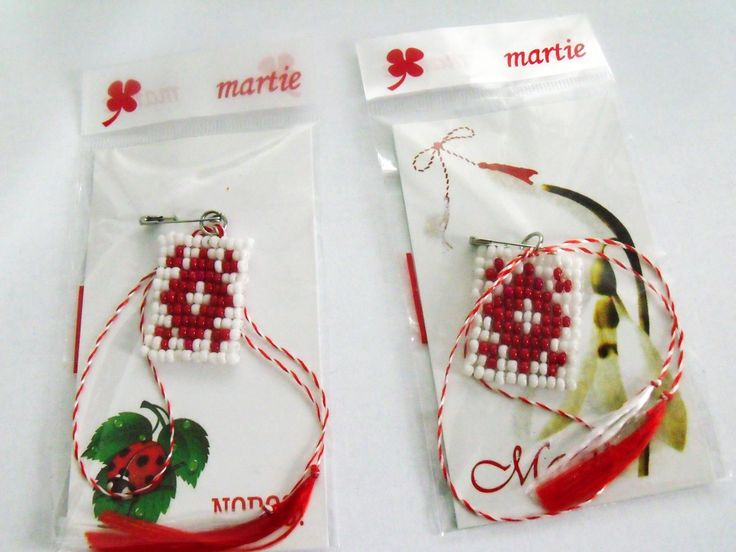 Beaded Spring Amulets.