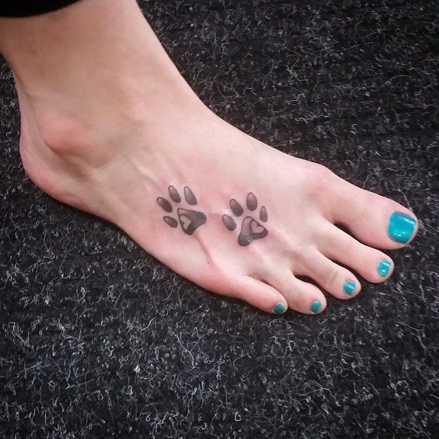 Paw Print Toe Tattoo: 168 Best Tattoos Images On Pinterest