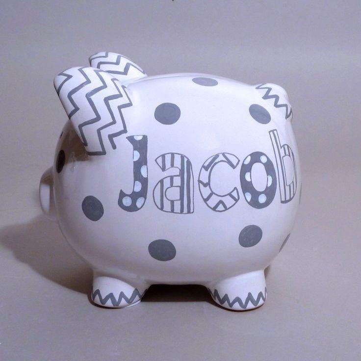 25 best ideas about homemade piggy banks on pinterest for Diy piggy bank