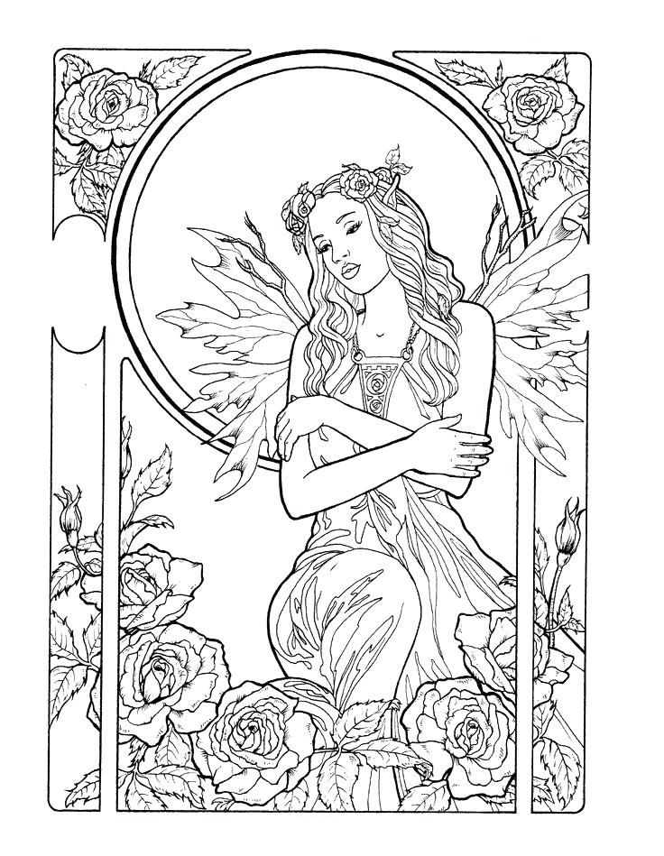 Fairy Coloring Pages For Adults - Best Coloring Pages For Kids Fairy Coloring  Pages, Mermaid Coloring Pages, Fairy Coloring