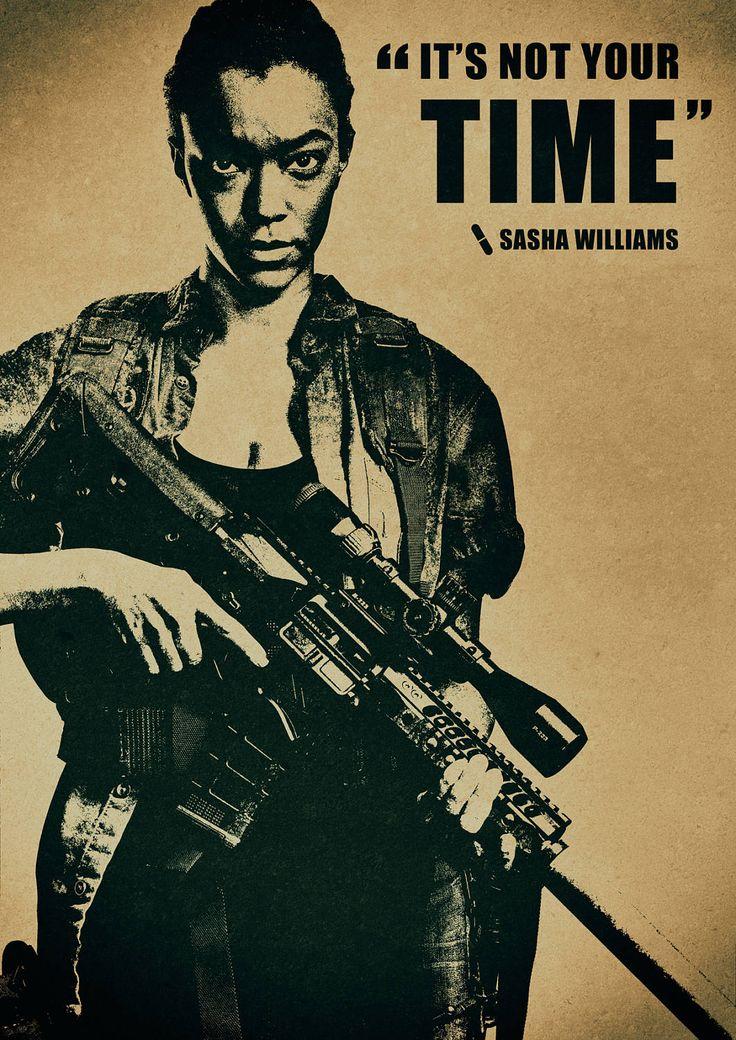 The Walking Dead (2010-?) (Sonequa Martin-Green - Sasha Williams)