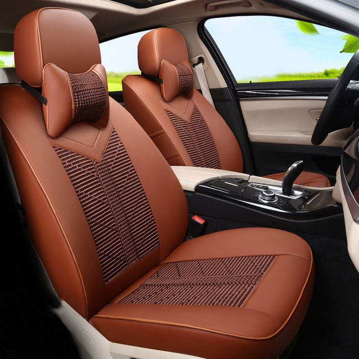Luxury Car Seat Covers Cusotm fit for BMW x5 Seats Cover Interior Accessories Set PU Leather Car Seat Protector for Cars Cushion #Affiliate