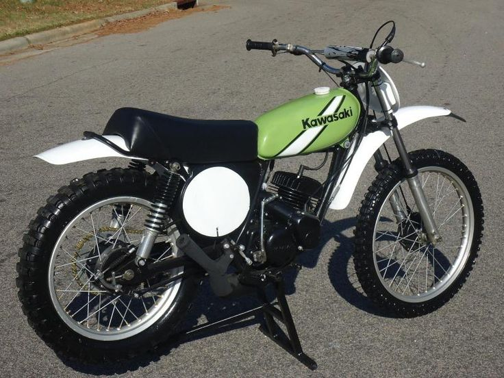 1975 Kawasaki KX125.  A good friend had this bike.