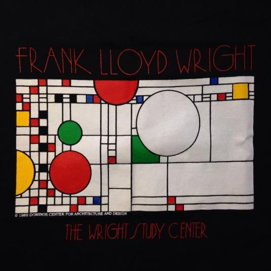 Frank Lloyd Wright Graphic Designs: 17 Best Images About Vintage T-Shirts On Pinterest