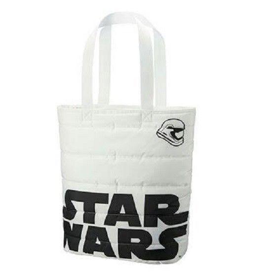 New! Star Wars x UNIQLO Tote Bag White Diseny Japan F/S #StarWars