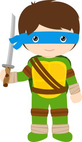 Menino Tartarugas Ninjas, Leonardo | #daJuuh