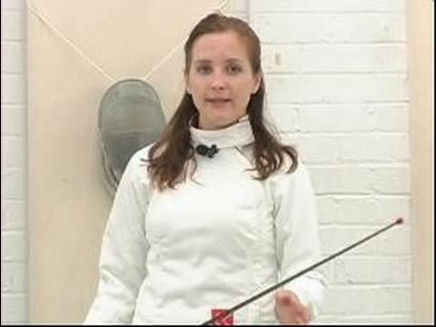 Epee Fencing Attacks : The Beat & Epee Fencing