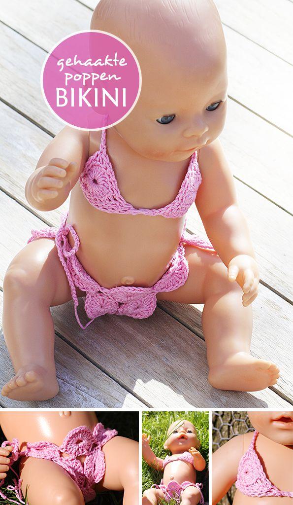 Poppen bikini - Klein Zoet Geluk