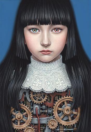 AWAKE -Ayano- Shiori Matsumoto ノスタルジックな少女たちの世界を描く松本潮里の絵画作品集