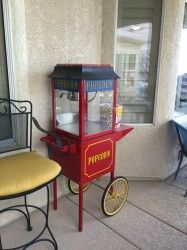 #Paragon 4 oz. #Popcorn #Machine w/Rolling #Cart Merchandise listings - #Henderson NV at Geebo
