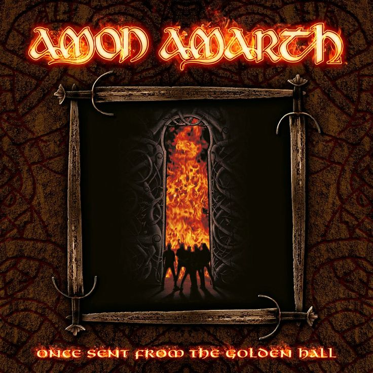 Once Sent From The Golden Hall (Alternative Cover) (Amon Amarth)