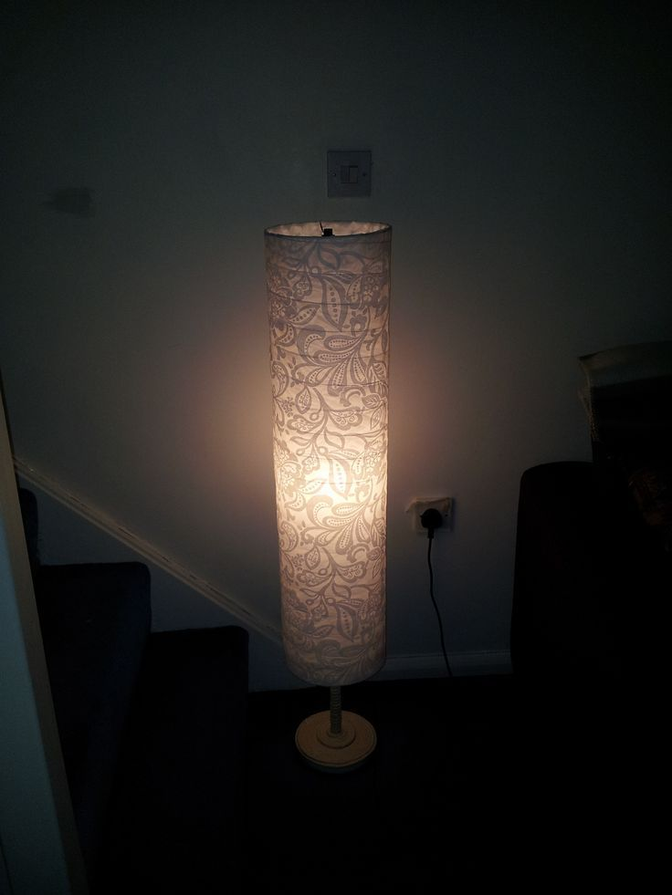 Ikea Lamp Part 2 After Ikea Holmo Lamp Paper Lantern Is Covered