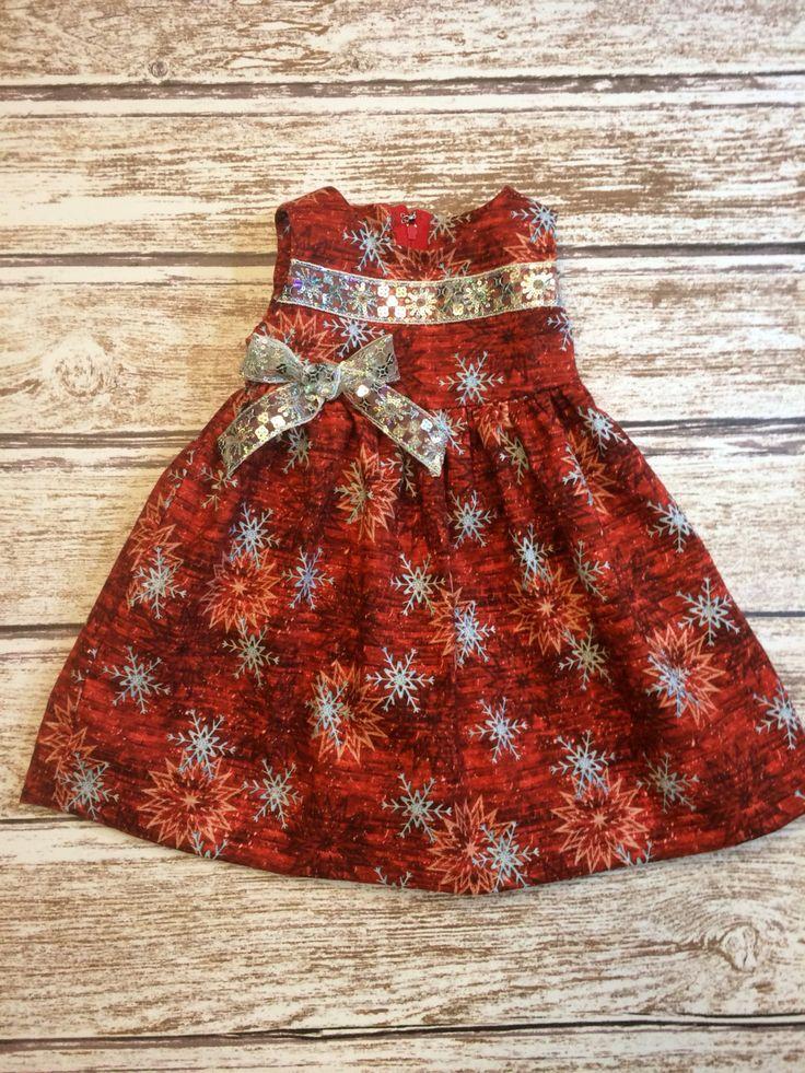 Glitzy Holiday Dress - Toddler Holiday Dress - Baby Girl Holiday Dress - Christmas Holiday Dress - Winter Holiday Dress - Valentine Dress by SimplyTotsBoutique on Etsy