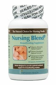 Nursing Blend Supplement is Great for Increasing Milk Supply While Breastfeeding