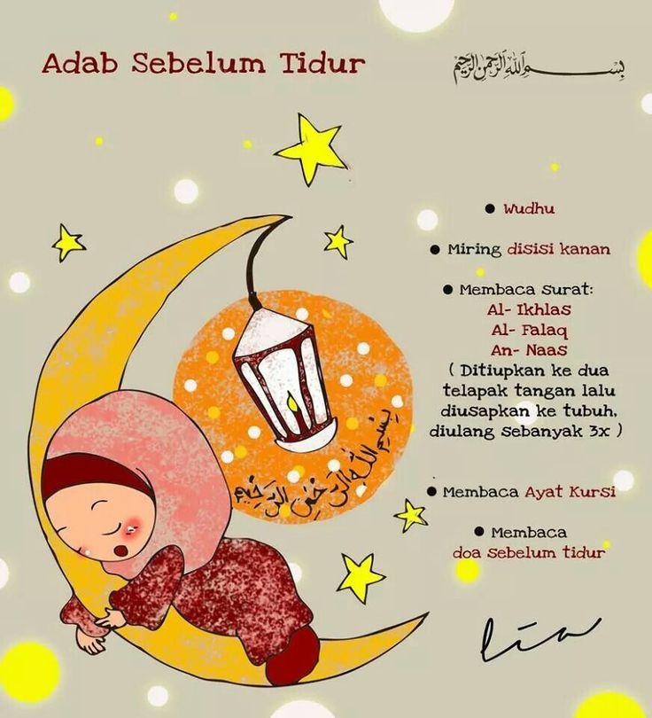 Adab sebelum tidur
