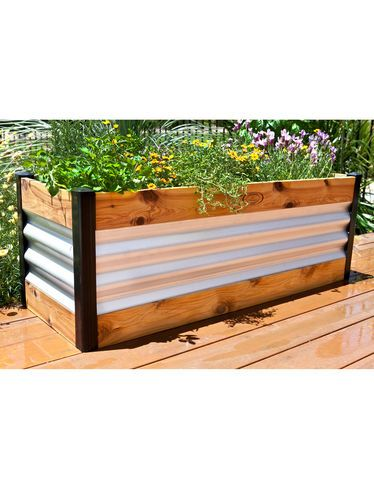 Corrugated Metal Bed is Attractive and Affordable