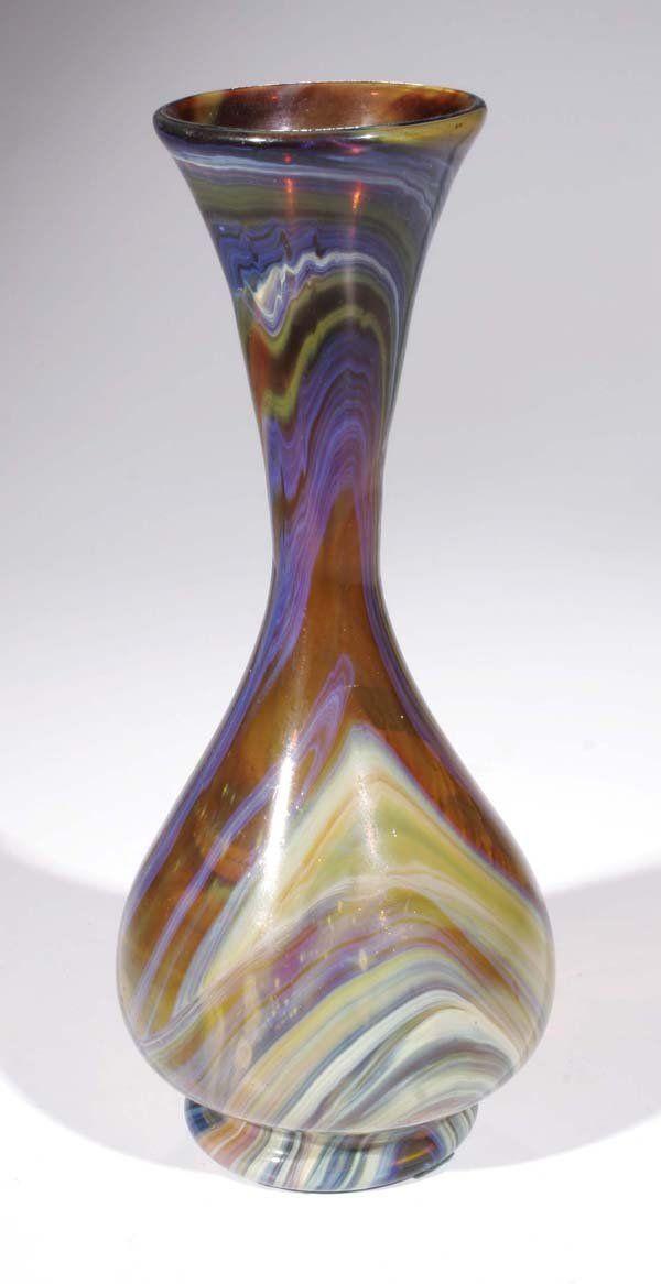 410B: Vase Murano Lorenzo Radi (accr.) 1850-1860 : Lot 410B