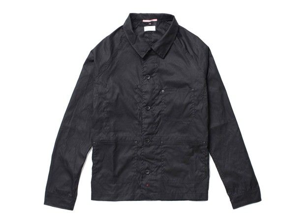 Apolis Waxed French Work Jacket