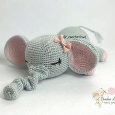 Слоник-сплюшка крючком