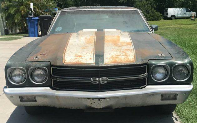 Original Owner 1970 Chevrolet Chevelle Ss396 Chevrolet Chevelle