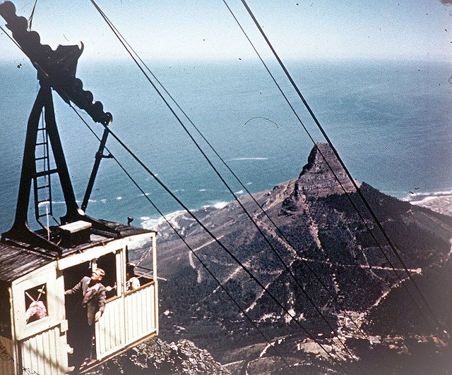 Cape Town, South Africa, in Colour.....1949 by Etiennedup, via Flickr