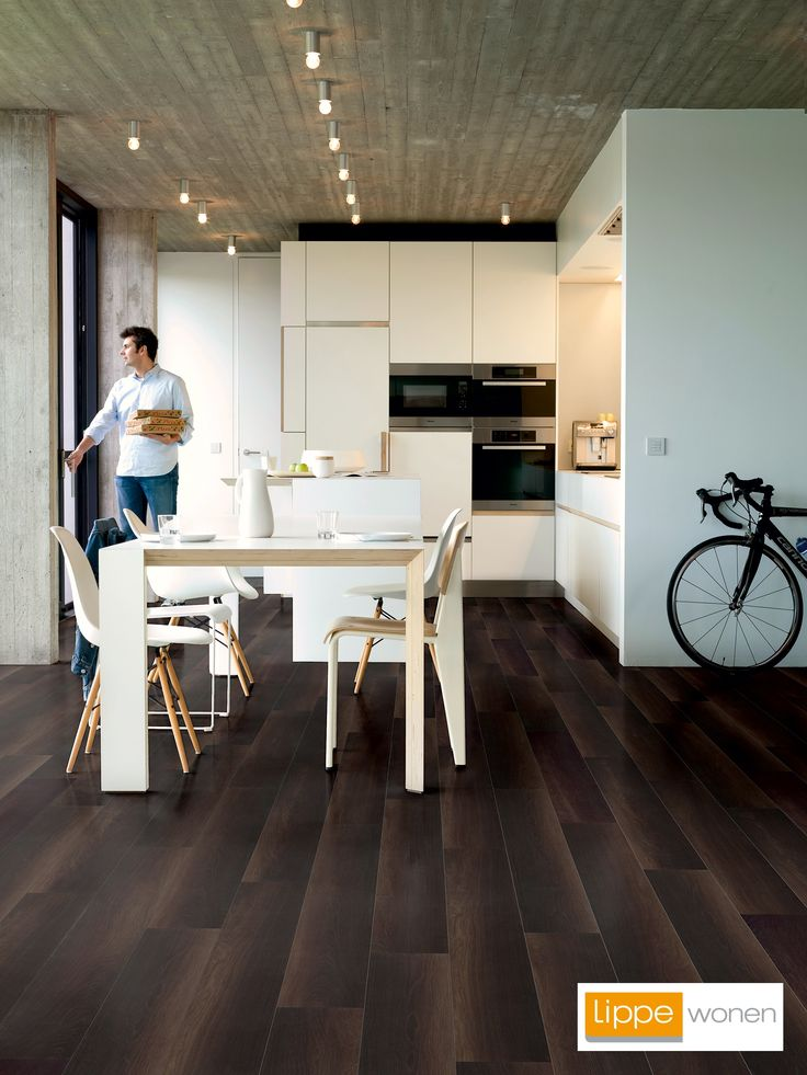 54 best laminaat images on pinterest laminate flooring for Quickstep kitchen flooring
