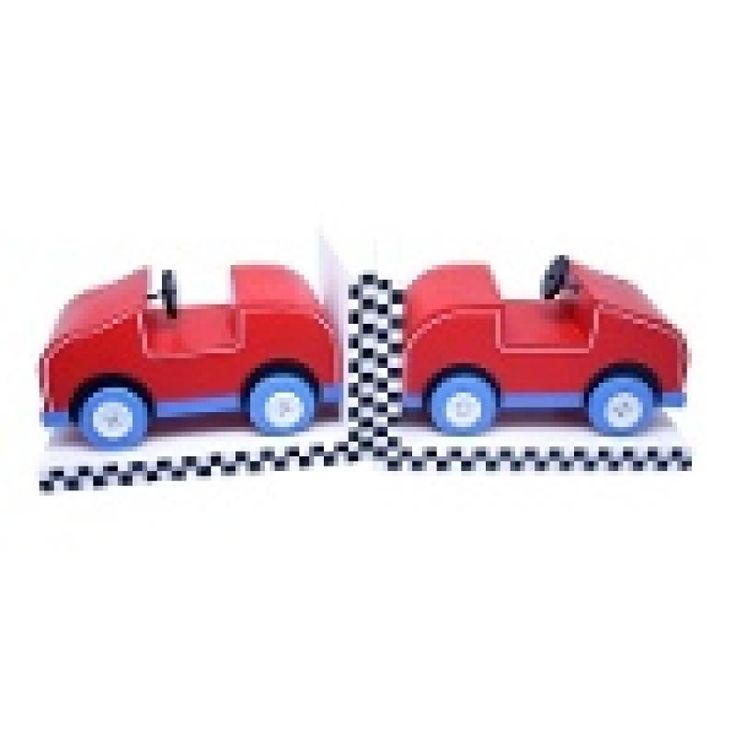 Racing Car Bookends - Metro for sale by Little Shop of Treasures. Other Metro Kids available now at LSOT.