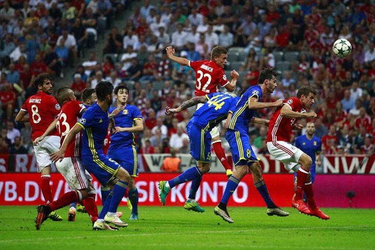 Bayern München 5 - 0 FK Rostov na Donu. UEFA Champions League 2016/2017 - Fase de grupos. 13.09.2016