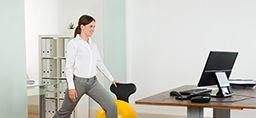 Long bouts of sitting will nearly wipe out your gluteal memory. Stand up and make those muscles remember their role. Sitting is the new smoking. Learn more. https://healthbeat.spectrumhealth.org/butt-muscles-suffer-amnesia/