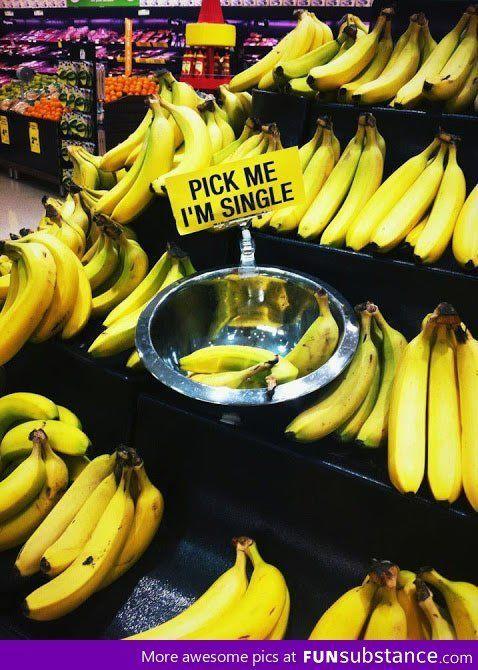 Lonely bananas - FunSubstance.com