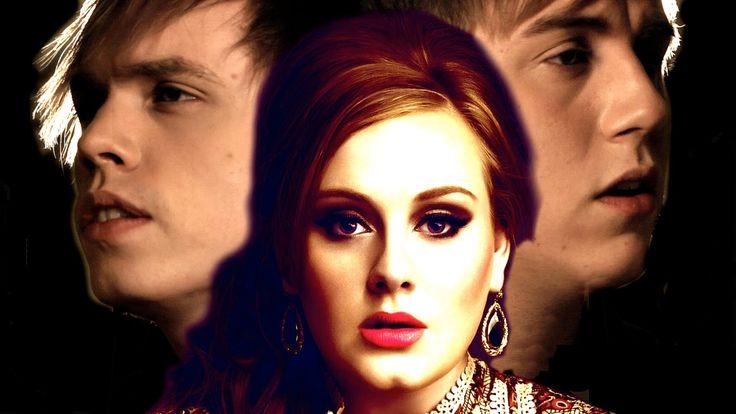Skyfall - Adele (Cover) - Roomie + Jonas Frisk  Guys just watch this. its sooooo beautiful.