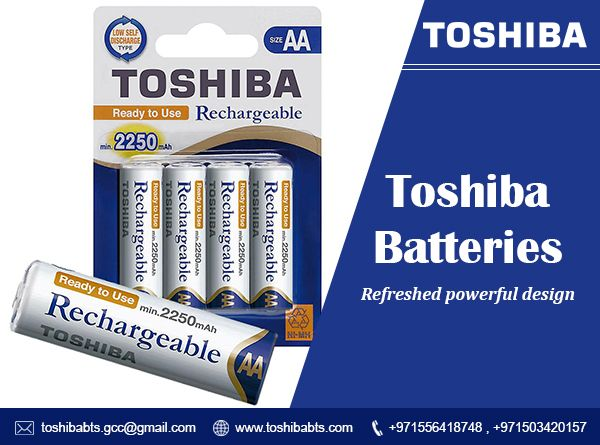 Aa Size Rechargeable Batteries Toshiba Rechargeable Batteries Dubai Offers