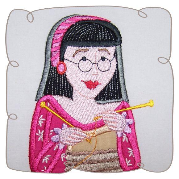 Ellen Quilt Lady 6: Embroidershoppe