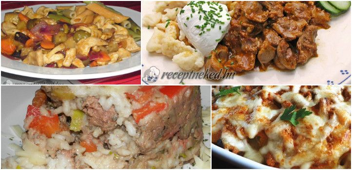 Nem tudod mi legyen a holnapi menü? Adunk egy pár szuper tippet! :) 3 nyári finomság dugig zöldségekkel, 1 különleges leves és egy isteni zúzapörkölt recept