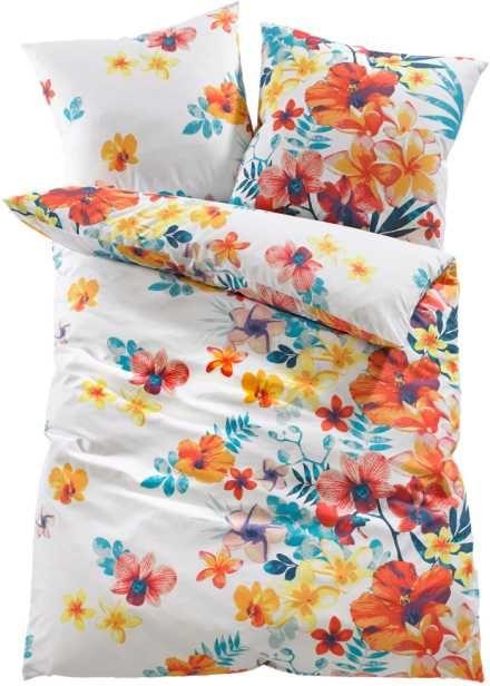 """Biancheria da letto """"Flowers"""", bpc living, Multicolore"""