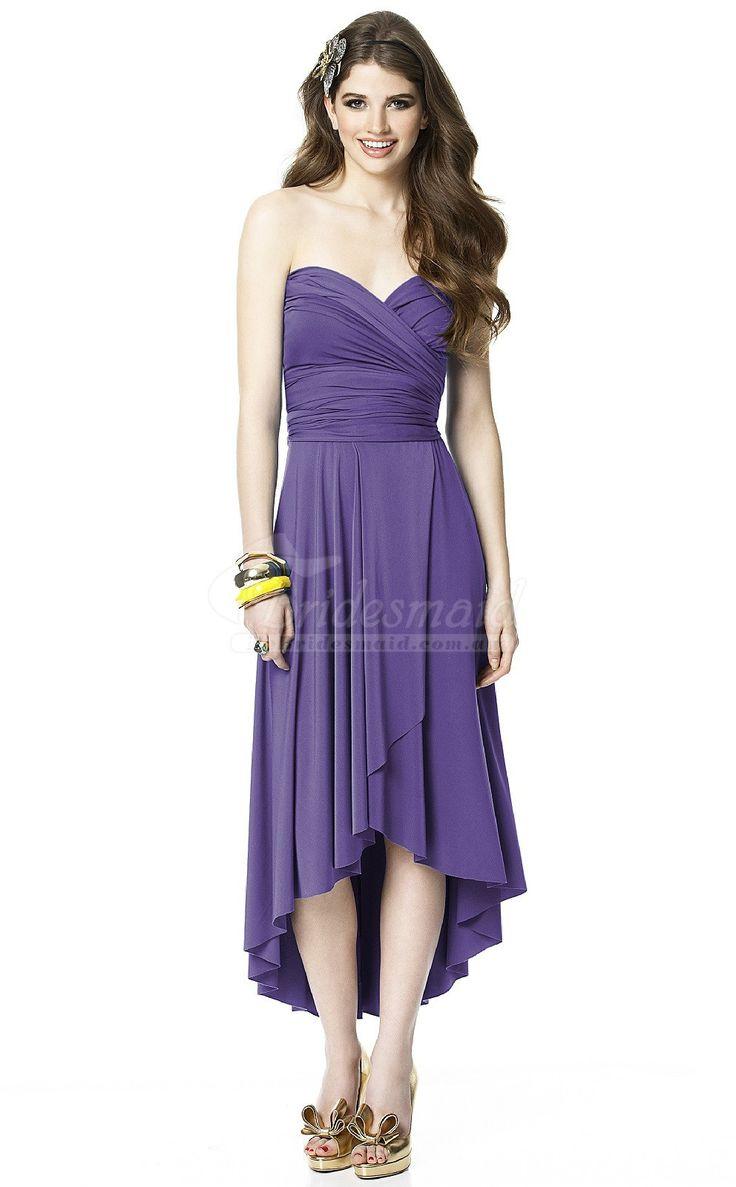 50 mejores imágenes de Purple Bridesmaid Dresses en Pinterest ...