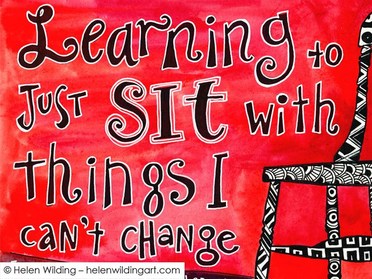 """Learning to sit with things I cannot change - reminiscing on acceptance & parenting. How does it feel when you desperately want to """"fix"""" things but can't?"""