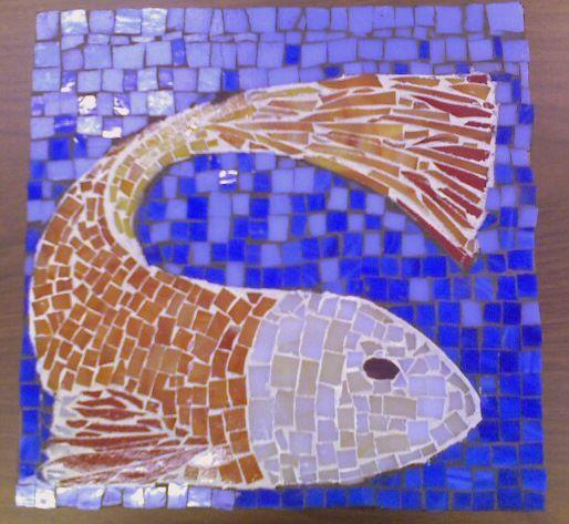 Mosaic patterns fish