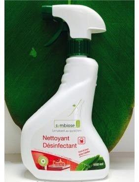 Ce nettoyant en spray est conçu pour nettoyer et désinfecter en profondeur les sols et les surfaces. Il est idéal pour désinfecter les sanitaires, les moisissures, la cuisine, la poubelle, le réfrigérateur, les poignées de porte...  Ce produit est bactéricide, fongicide, virucide, et compatible contact alimentaire.