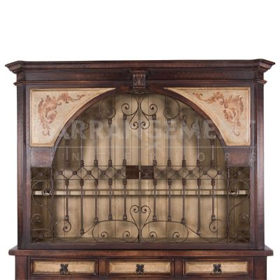 Grand Spanish Hutch | Rustic furniture in Houston and Dallas. The best furniture store for custom built western furniture.