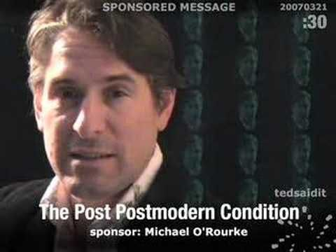 The Post Postmodern Condition