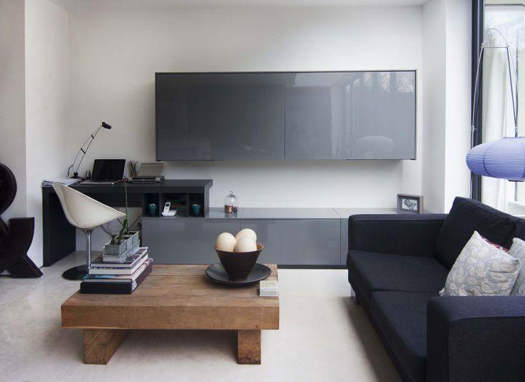 Living room furniture sets: shelving units for modern rooms