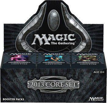 Magic the Gathering M13 2013 Core Set Booster Box 36 Pack... https://www.amazon.com/dp/B0088AICIG/ref=cm_sw_r_pi_dp_x_R3O3yb9JV40SG