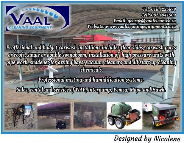 Proffesional And Budget Carwash Installions Includes Floor Slabs Carwash Ports Or Roofs Single Or Double Swingboom Pressure Units Cleaning Chemicals Cleaning