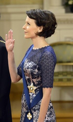 First Lady Jenni Elina Haukio Finland