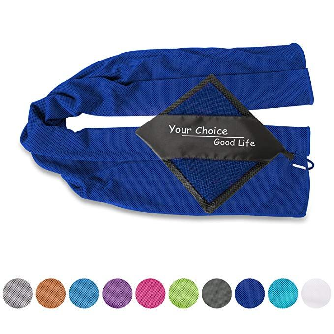 Your Choice Cooling Towel Workout Gym Fitness Golf Yoga Camping Hiking Bowling Travel Outdoor Sports